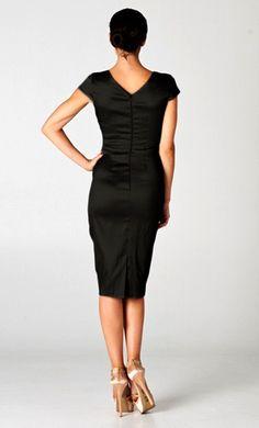 b8a4d4283a Charlice Dress in Classic Black Beautiful Black Dresses