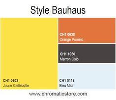 Une esthétique simple et moderne inspirée de la dynamique et des lignes géométriques du courant Bauhaus. www.chromaticstore.com