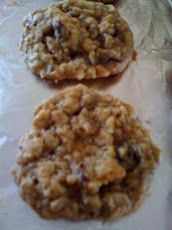 Chewy Cranberry Oatmeal Cookies Recipe