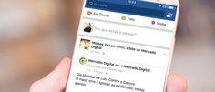 Facebook muda relevância dos  posts e de vídeos no Feed de Notícias