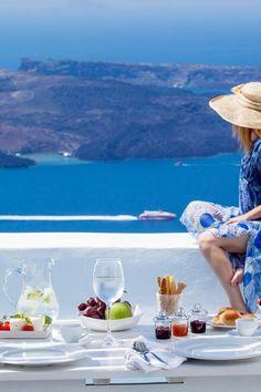 Summer Days in Santorini, Greece