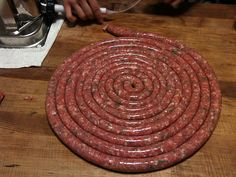 AustinTexasButcher: An Introduction to French Sausage Making. How To Make Sausage, Sausage Making, Charcuterie, Carnicerias Ideas, Home Made Sausage, Hot Dogs, Homemade Sausage Recipes, Yummy Recipes, Crack Crackers