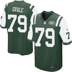 a9a4e43cc Men s Nike New York Jets  79 Brent Qvale Game Green Team Color NFL Jersey  Ray