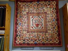 Mount Mellick Quilt made by Tamara,   quilted by Nicolette Swan 't Kennermer Quilt House