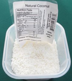 How to Substitute Unsweetened for Sweetened Coconut | Mother Would Know