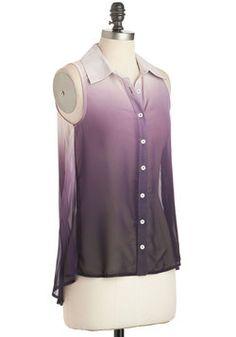 Lilac Festival Top, #ModCloth