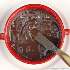 Homemade Nutella from Healthy Green Kitchen