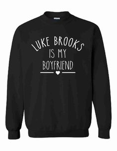 Luke Brooks Is My Boyfriend Unisex Sweatshirt by CrazyPrintsL, £14.99