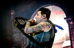 Images of Avenged Sevenfold.