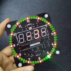 Cheap diy kit, Buy Quality kit diy directly from China electronic board Suppliers: Rotating Digital LED Display Module Alarm Electronic Digital Clock LED Temperature Display DIY Kit Learning Board Green Led, Digital Clocks, Buzzer, Diy Electronics, Diy Kits, Arduino, Alarm Clock, Display, Learning