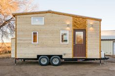 20-Foot MitchCraft Tiny House with Queen Loft