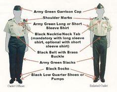 JROTC Rank/Uniform - Army JROTC Progam Sheldon Clark High School