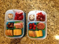 Homemade lunchables #easylunchboxes