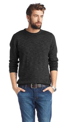 Men's Basic Winter Sweater