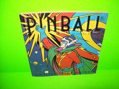 1976 Pinball An Illustrated History Michael Colmar Pinball Machine History Book #Pinball #PinballHistory