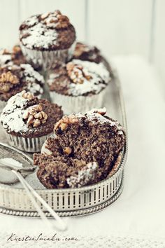 Muffinki makowe.