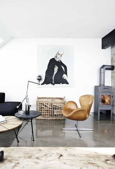 Love this artist's home - on BO BEDRE