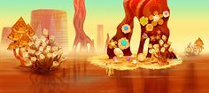The Art of Cloudy with a Chance of Meatballs 2 - Movie Art