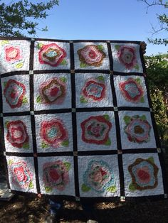 Front of Thelma's baby quilt, #7.