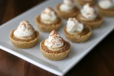 A Recipe For Aperture: Mini Banoffee Pies - A friend visiting from England made this and it was fantastic!