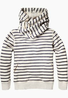 Adorable cute stripes hoodie for fall