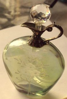 Vintage-Aroma-Bottle-With-Silver