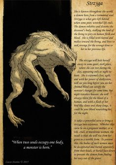 """""""When two souls occupy one body, a monster is born"""". Les Runes, Myths & Monsters, Legends And Myths, Legendary Creature, Norse Mythology, Roman Mythology, Greek Mythology, Urban Legends, Mythological Creatures"""