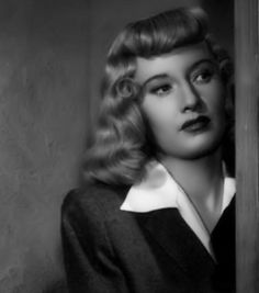 Femme Fatale. Barbara Stanwyck in 'Double Indemnity'