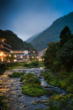 Hakone Ryokan and Onsen Hot Springs, near Mt Fuji, Japan
