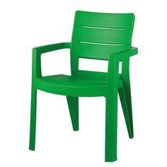 Stapelstuhl Miramar   Kunststoff Hellgrün. HtmlGarten
