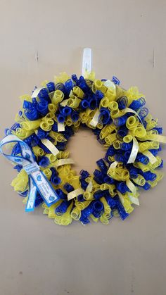 Down Syndrome Awareness Wreath