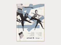 Medical advertisement (1950) - Franco Grignani