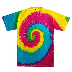 HiHippy Tie Dye T-Shirt Yellow Pink Blue Hippie Men Women Short Sleeve Multicolor Hippie Men, Hippie Pants, Boho Pants, Flowy Pants, Comfy Pants, Harem Pants, Funny Iphone Cases, Iphone 7, Elephant Pants