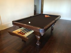 Brunswick Acton Pool Table With Drawer. Store All Your Billiards  Accessories Inside Your Billiards Table!!!  Http://everythingbilliards.net/shop/bru2026