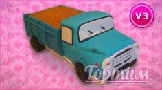 Торт в виде автомобиля. Подарите любимому автомобиль его мечты. Заказать торт в виде автомобиля можно на сайте Tortim.ru