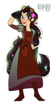 Image Result For Varian Tangled Fan Art Moondrop Enrolados Rapunzel Animacao Fanarts Anime