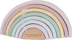 Little Dutch Wood Rainbow Pink Baby Girl Toys, Toys For Girls, Wooden Rainbow, Dutch, Blush, Eyeshadow, Pink, Toys, Wood