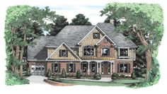 Callicott - Home Plans and House Plans by Frank Betz Associates