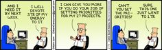 Dilbert comic strip for 02/01/2013 from the official Dilbert comic strips archive.