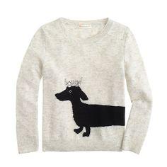 J.Crew - Girls' dog sweater