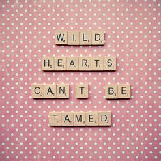 Scrabble quote art  wall decor  wild by RetroLovePhotography, $15.00
