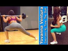 YOVANNA VENTURA - Fitness Model: Exercises to Tone the Butt - Muscle & Fitness @ USA - YouTube
