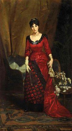 1880s Fashion, Victorian Fashion, Vintage Fashion, Victorian Art, Victorian Women, Fashion History, Fashion Art, Fashion Portraits, High Fashion