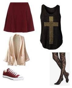"""""""Untitled #192"""" by lulu-bell-7298 on Polyvore featuring Express and Converse"""