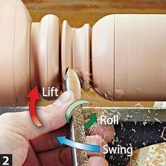 Lift, roll, swing #2