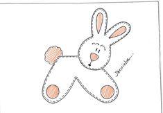 desenho coelho molde