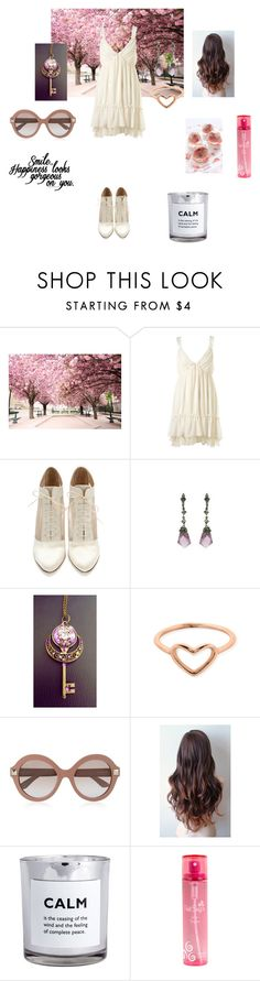 """""""Jenna: Springy"""" by twisted-doll ❤ liked on Polyvore featuring Loeffler Randall, ChloBo, Valentino, H&M, Pink Sugar, jenna and OC"""