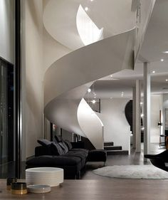 Love the stairwell.