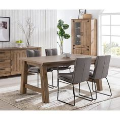 Decoration, Dining Table, Design, Furniture, Home Decor, Rustic Chic, Woodwork, Rural Area, Classic