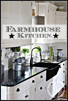 stonegable FARMHOUSE KITCHEN http://www.stonegableblog.com/farmhouse-kitchen/ via bHome https://bhome.us